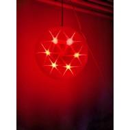 LED svietiaca GUĽA 30cm, RGB - viacfarebná