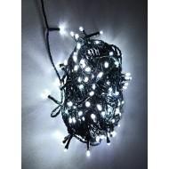 PROFI LED vianočné osvetlenie 20m reťaz so zeleným káblom, 200xLED, IP44, studená biela