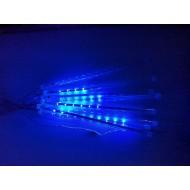 LED vianočné osvetlenie meteor, 8ks ( 30cm/ks ), padajúce hviezdy, IP44, modrá