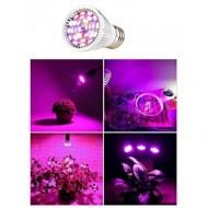 PROFI LED žiarovka pre všetky rastliny 6W, E27, High-power+, fialová