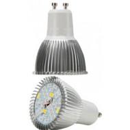 PROFI LED žiarovka pre všetky rastliny 5W, GU10, High-power+, ružovo-modrá
