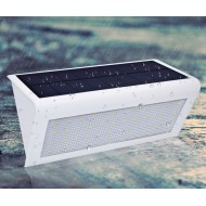 Solárne senzorové svetlo - studená biela