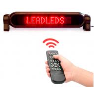LED reklamný panel 12V + diaľkové ovládanie