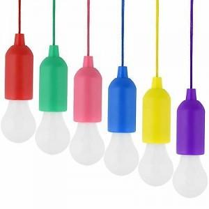 Závesné LED svietidlá na ručné zapínanie