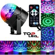 LED MUSIC-DISCO projektor, 6W, RGB