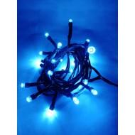 LED vianočné osvetlenie, 2,5 m reťaz, 25xLED, IP44 modrá