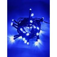 LED vianočné osvetlenie, 4 m reťaz, 50xLED, IP44 modrá