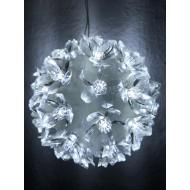 LED svietiaca GUĽA 10cm, studená biela