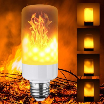 LED FLAME žiarovka- štýlová imitácia plameňa, E27, 3W