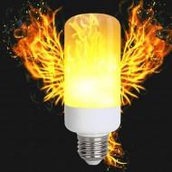 LED FLAME žiarovka- štýlová imitácia plameňa, E27, 5W