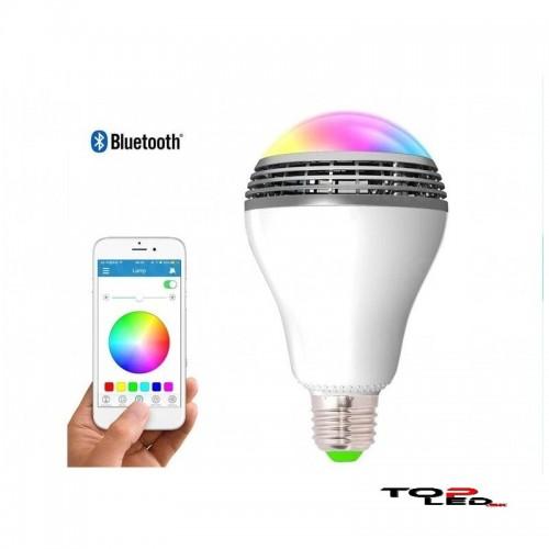 4c6cdfca0 Inovatívna novinka LED music wi-fi žiarovka s reproduktorom