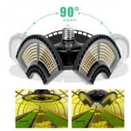 PROFI LED žiarovka pre všetky rastliny s 3 ľahko nastaviteľnými časťami , 60W, E27, High-power+, IP65, SUNLIGHT