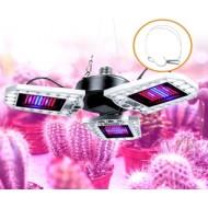 PROFI LED žiarovka pre všetky rastliny s 3 ľahko nastaviteľnými časťami , 60W, E27, High-power+, IP65, ružová