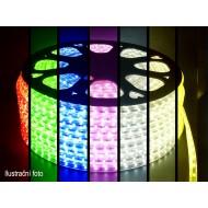 LED pás SMD5050 60LED/m IP68,230V , 1m - RGB- viacfarebný