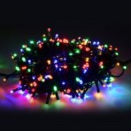 PROFI LED vianočná svetelná reťaz, 200xLED, viacfarebná 30m, 220V, IP44