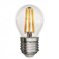 LED žiarovka filament mini globe A++ 4W E27 neutrálna biela