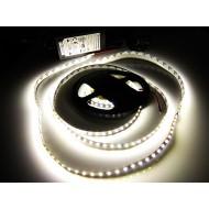 Kompletná sada LED pásik 5m, SMD 3014, 120 led/m, 9,5W/m, neutrálna biela, IP20, adaptér 60W