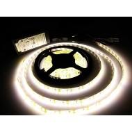 Kompletná sada LED pásik 5m, SMD 3014, 120 led/m, 9,5W/m, neutrálna biela, IP65, adaptér 60W