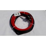 Vykurovací kábel 10W/m - 5 m