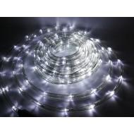 Vianočný LED svetelný had vonkajší, 9m, IP65, studená biela