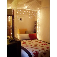 LED svetelné ZÁVESY interierové