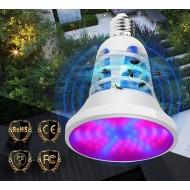 BASIC LED GROW žiarovka 8W pre všetky rastliny s lapačom hmyzu, fialová