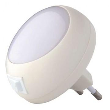 Nočné svetlo do zásuvky 230V, 5x LED
