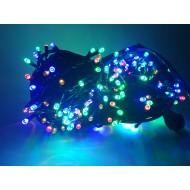 PROFI LED vianočná svetelná reťaz, 300xLED, RGB - viacfarebné 22m, 220V, IP65
