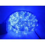 Vianočný LED svetelný had vonkajší, 18,4m, IP65, jednofarebná - modrá