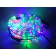 Vianočný LED svetelný had vonkajší, 18,4m, IP65, viacfarebná - RGB