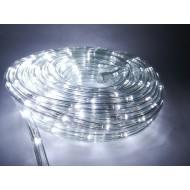 Vianočný LED svetelný had vonkajší, 16,9m, IP65, jednofarebná - studená biela