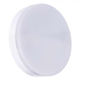 LED prisadené svietidlo kruh 15W studená biela IP44