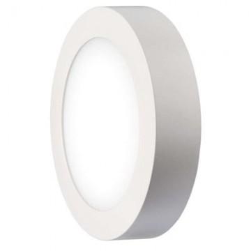 LED stropné prisadené svietidlo kruh 12W neutrál. biela IP20