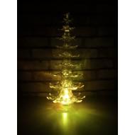 LED svietiaci stromček, RGB-viacfarebný