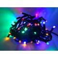 PROFI extra hrubá vianočná reťaz 6m, 60 led - RGB - viacfarebná, IP44