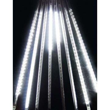 LED vianočné osvetlenie meteor, 8ks ( 50cm/ks ), padajúce hviezdy, IP44, studená biela