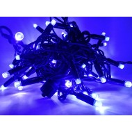 PROFI extra hrubá vianočná reťaz 6m, 60 led - modrá, IP65