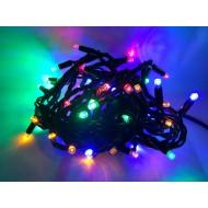 PROFI extra hrubá vianočná reťaz 6m, 60 led - RGB - viacfarebná, IP65