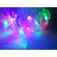 LED vianočná dekorácia - stromčeky RGB viacfarebné