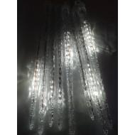 LED vianočné CENCÚLE 50 cm, 8xLED, 4m, IP20, studená biela