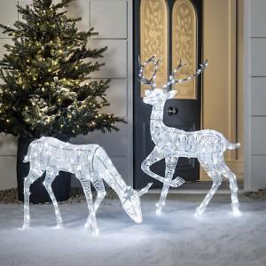 LED vianočné svetelné DEKORÁCIE