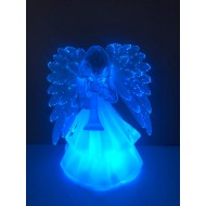 LED svietiaci anjel, RGB-viacfarebný