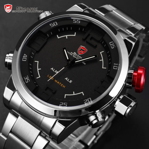 LED hodinky SHARK SH103 86df1881a6b