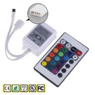 LED diaľkové ovládanie RGB, 24 tlačidiel, IR 6A