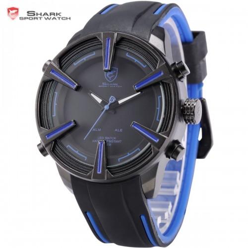Pánske LED hodinky SHARK SH386 068c9d6f3de