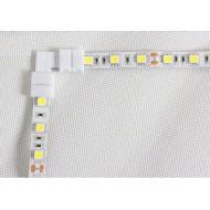 Klip napájacia rohová spojka pre jednofarebné LED pásiky so šírkou 10 mm (SMD 5050, 5630)