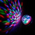 Žiarovka LED 3W DISCO, E27, viacfarebná