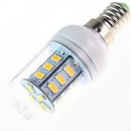 Žiarovka LED 5W,  corn 24x SMD5730 , E14, teplá biela