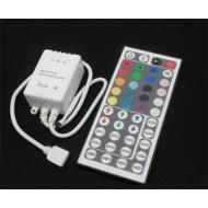 LED RGB ovládač IR + diaľkové ovládanie 44 tlačidiel, 72W, 6A