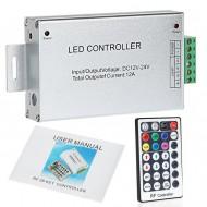 LED diaľkové ovládanie RGB, 28 tlačidiel, RF 12A